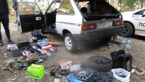 В Запорожье задержали автоворов, один из которых несовершеннолетний, — ФОТО