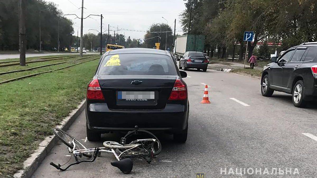 У Запоріжжі в трагічному ДТП загинув велосипедист, – ФОТО