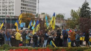 «Вече на Майдане»: в Запорожье полтысячи горожан вышли на площадь против «формулы Штайнмайера», – ФОТОРЕПОРТАЖ