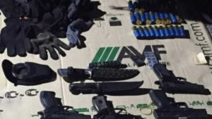 Запорожский триллер: бандиты ворвались на штрафплощадку полиции и угнали конфискованный автомобиль