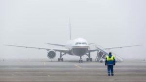 Через туман в запорізькому аеропорту скасовані та затримуються рейси