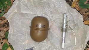 На околиці Запоріжжя СБУ знайшла схрон з боєприпасами, — ФОТО