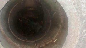 У Запоріжжі чоловік у дворі будинку впав у п'ятиметровий колодязь, – ФОТО