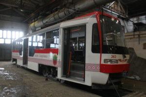 Два нових трамвая запорізького виробництва вийдуть на маршрути на початку грудня, – ФОТО