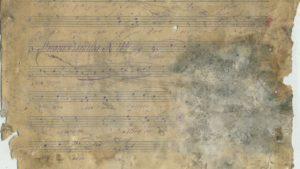 В Запорізькій області знайшли рештки церковного пісенника початку ХХ століття