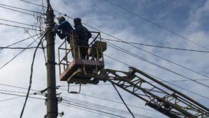 В Бердянске восстановили подачу электроэнергии
