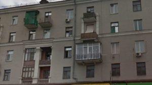 В Запоріжжі власники квартири в будинку-пам'ятці архітектури зруйнували балкон, — ВІДЕО