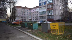 В Запорізькій області встановили окремі сміттєві  контейнери для пластику