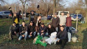 Запорожские байкеры начали устанавливать памятник погибшим собратьям