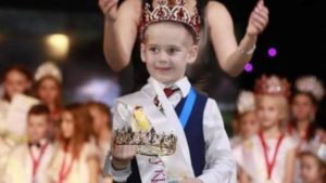 5-летний запорожец стал победителем всеукраинского конкурса красоты