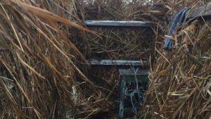 В Запорізькій області демонтували мисливські скрадки, — ФОТО