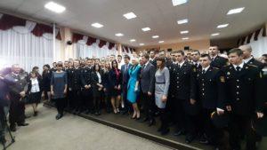 Глава ВР Дмитрий Разумков посетил военный лицей и наградил лучших курсантов и педагогов