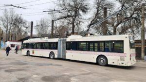Стало известно, по какому маршруту в Запорожье будет ездить европейский троллейбус-гармошка, — ФОТО