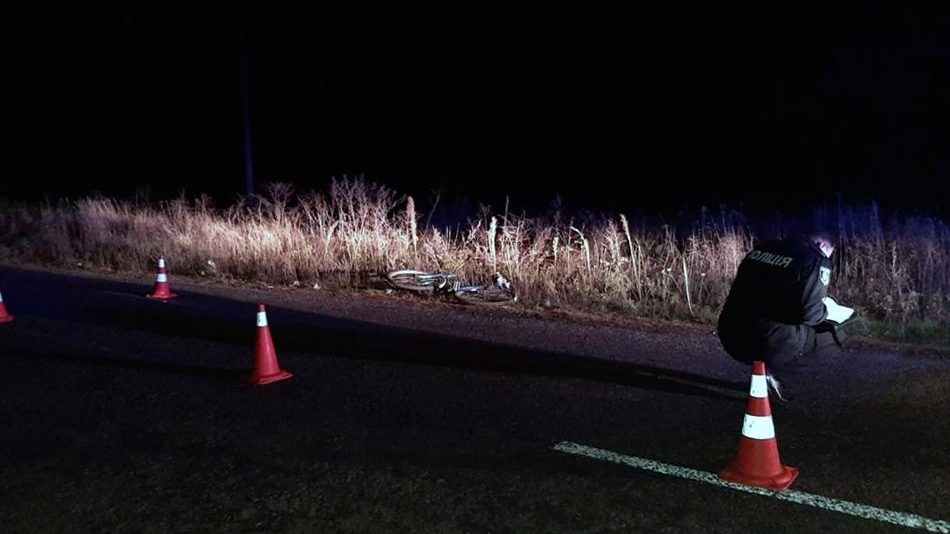 В Запорожской области водитель сбил велосипедиста и сбежал с места ДТП, – ФОТО