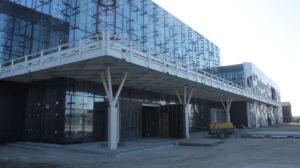В Запорожье заканчивают строительство нового пассажирского терминала аэропорта, – ФОТОРЕПОРТАЖ