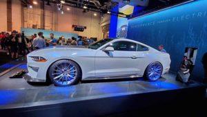 Ford представил электрический Mustang, — ФОТО