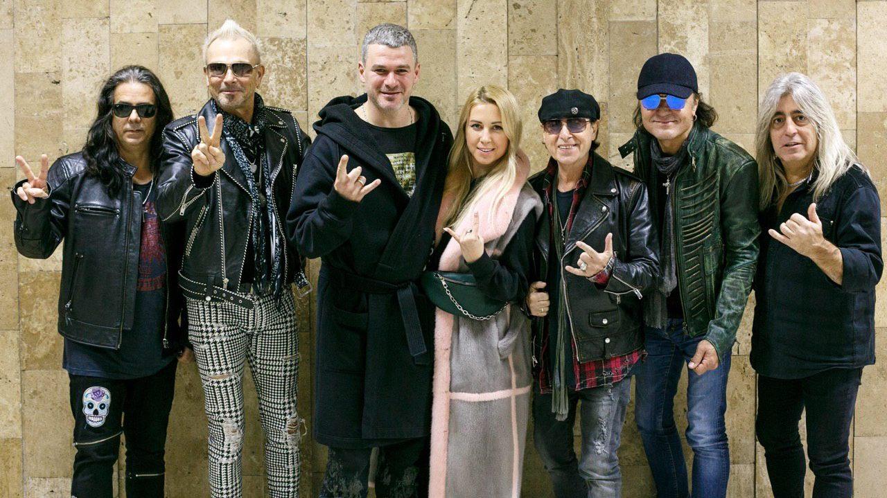 Певец из Запорожья познакомился с легендарными Scorpions, — ФОТО