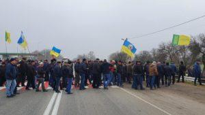 У Запорізькій області перекрили трасу: аграрії вимагають призупинити продаж землі, — ФОТО