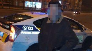 Під кайфом та озброєний: у Запоріжжі водій Volkswagen виявився злісним порушником, — ФОТО