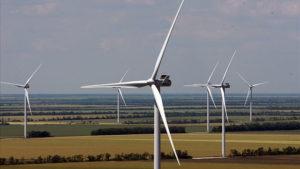 В Запорожской области заработала еще одна ветряная электростанция