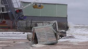 В Кирилівці через негоду затопило бази відпочинку, — ВІДЕО