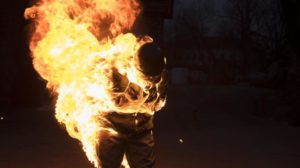 В Запорожской области мужчина облил себя бензином и поджег
