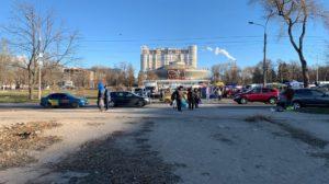 На площади перед цирком в Запорожье собираются построить детскую зону отдыха с аттракционами