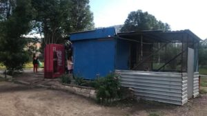На Бабурці демонтували чергову незаконну споруду, — ФОТО