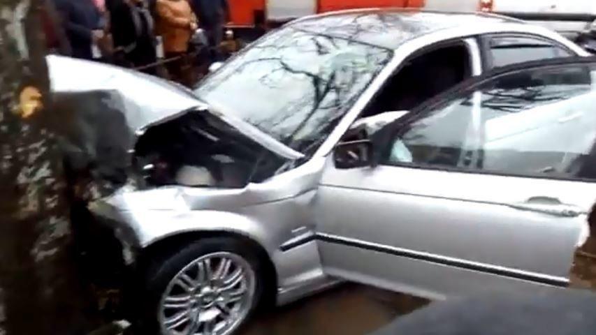 Мелитопольский суд оштрафовал водителя, который врезался в забор возле рынка