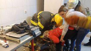 Жительница Запорожской области попала в ловушку на рабочем месте, — ФОТО