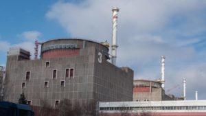 На Запорожской АЭС энергоблок отправили в ремонт