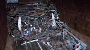 В Запорожской области изъяли почти 5 тонн незаконного металла