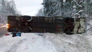 В аварії з запорізьким автобусом в Росії постраждали 8 українців