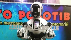 Впервые в Запорожье откроется интерактивная выставка «Город роботов»