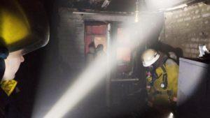 В Запорожской области несколько человек едва не погибли в огне, — ФОТО