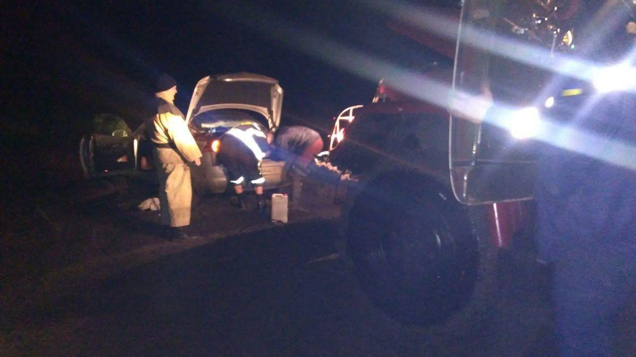 В Запорізькій області рятувальники дістали з багнюки автівку, — ФОТО