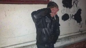 В Запорізькій області нацгвардійці затримали озброєного злодія