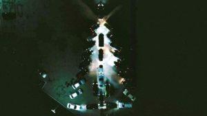 Автоялинка та пробіг: на Запоріжжі влаштували новорічний флешмоб, — ВІДЕО