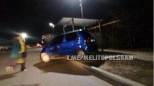 На Запоріжжі,  залишена в авто дитина, потрапила у ДТП