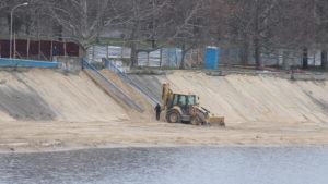 В Запорожье началась реконструкция Правобережного пляжа за 40 миллионов гривен, – ФОТОРЕПОРТАЖ
