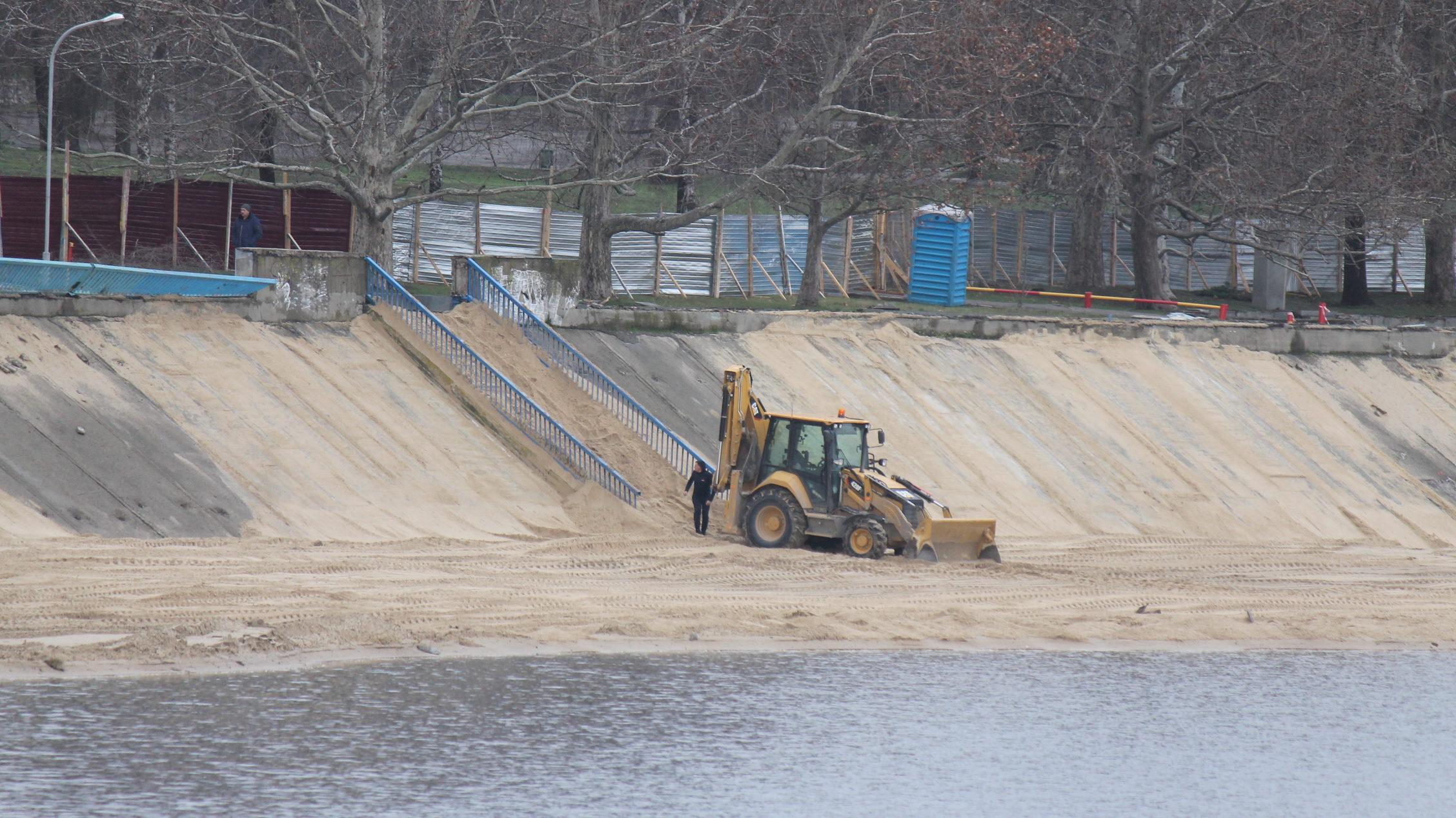 У Запоріжжі розпочалася реконструкція Правобережного пляжу за 40 мільйонів гривень, – ФОТОРЕПОРТАЖ