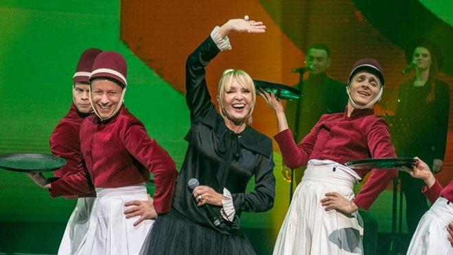 Лайма Вайкуле заспівала дуетом зі співаком із Запоріжжя, — ФОТО