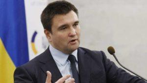 Клімкін знову заговорив про плани Кремля, до яких входить Запоріжжя