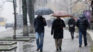 Завтра в Запорожье ожидается мокрый снег, — ПРОГНОЗ