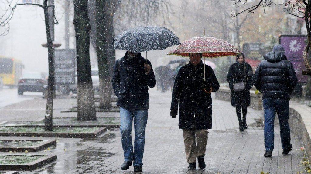 Завтра у Запоріжжі очікується мокрий сніг, — ПРОГНОЗ