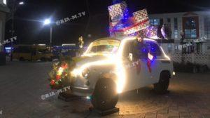 В Запорожской области установили необычную новогоднюю фотозону, — ФОТО