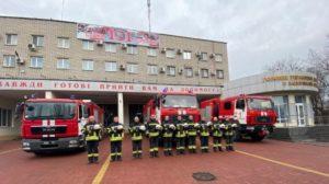 Запорізькі рятувальники вшанували пам'ять загиблих у трагедії в Одесі, — ФОТО