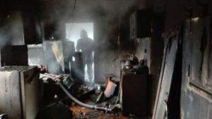 В Запорожской области горел частный дом, – ФОТО