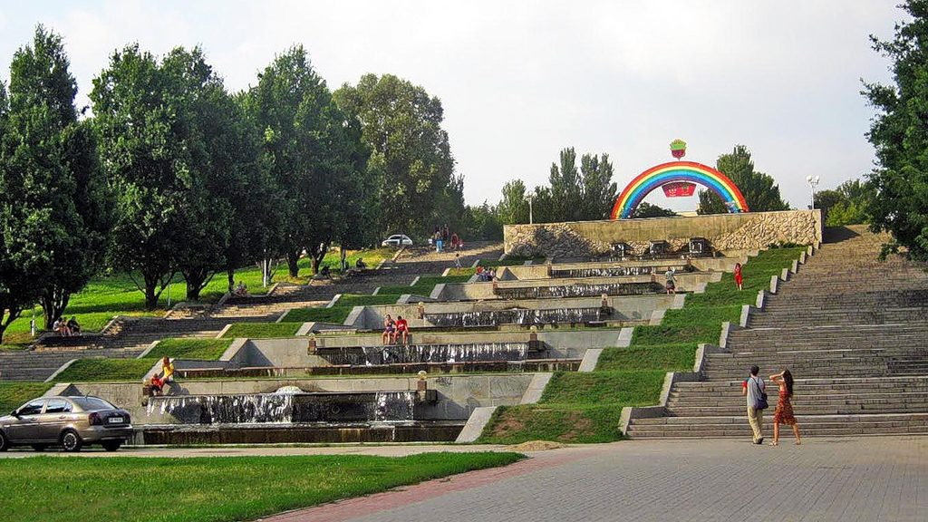 В следующем году запорожцы смогут гулять  в новом ландшафтном парке на «Радуге»