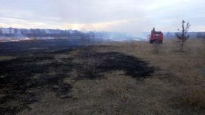 Сезон пожеж почався? За добу рятувальники загасили 9 займань на відритих територіях